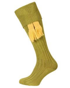The Humber Cotton Shooting Sock - Khaki