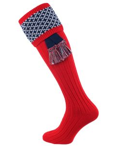 The Whitley Shooting Sock with Garter, Brigade