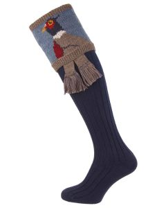 Navy Blue, Pheasant Shooting Socks