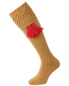 The Chelsea Merino Wool Shooting Sock - Camel