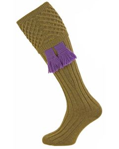 Old Sage, Chelsea - Fine Merino Wool Shooting Sock from Pennine