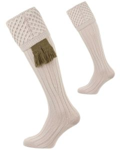 The Chelsea 'Stone' Merino Wool Shooting Sock