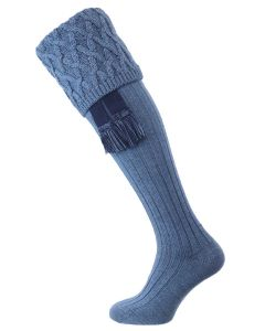 The Rannoch Shooting Stocking, Blue Mix
