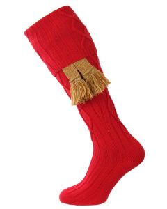 The Keswick Shooting Sock - Chianti - Large