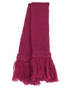 Extra Fine Merino Wool Garter - Raspberry