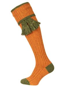 The Kyle Shooting Sock and Garter Set - Wildbroom