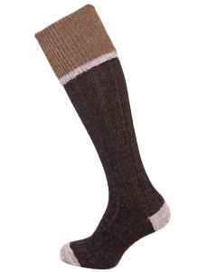 The Easton Luxury Alpaca Shooting Sock - Charcoal