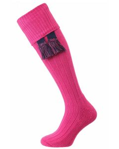 The Allensmore 'Clematis' Cotton Cushion Foot Shooting Sock
