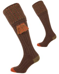 The Ambassador 'Mocha' Merino Wool Shooting Sock
