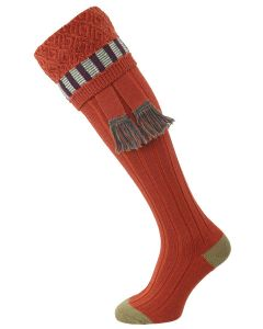 The Bristol Merino Wool Shooting Sock, Maple