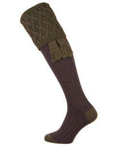 The Rannoch Moor 'Spruce' Shooting Sock