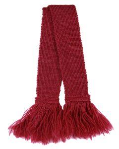 Premium Wool Garter - Cherry