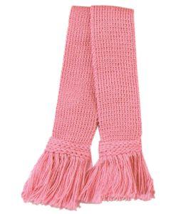 Classic Merino Wool Blend Garter - Rosewater