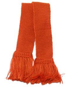 Classic Merino Blend Garter - Burnt Orange