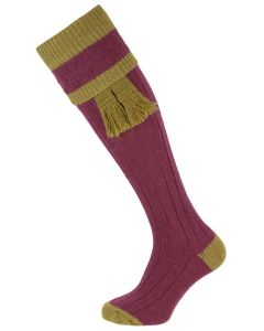 The Willersley 'Damson & Sage' Shooting Sock