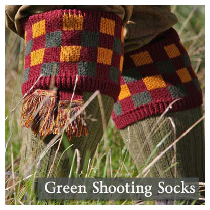 Green Sooting Socks
