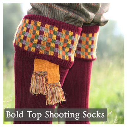 Bold Shooting Socks