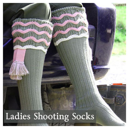 Ladies Shooting Socks