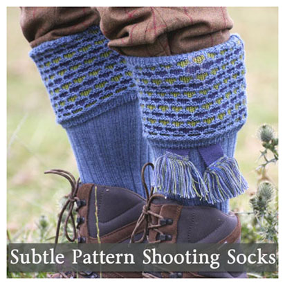 Subtle SHooting Socks